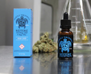 Lucky turtle, restore tincture, medical marijuana, marijuana tincture