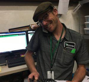 Sam Redman, Budtender, The Greenery, Durango, CO, marijuana