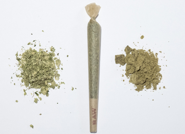 Hash Joint is crafted with a 50/50 blend of craft cannabis and classic Hash for a complex and decadent joint